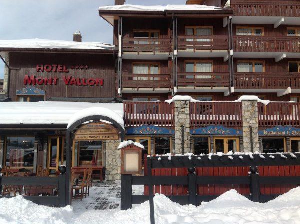 Hotel Mont Vallon Meribel 4*